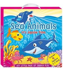 Art Factory Sea Animals - My Little Pack of Jigsaw Puzzle