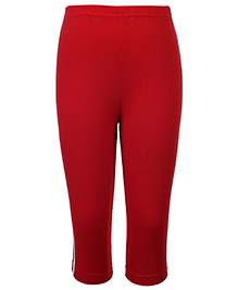Taeko Full Length Track Pants - Red