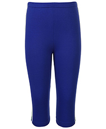 Taeko Full Length Track Pants - Royal Blue