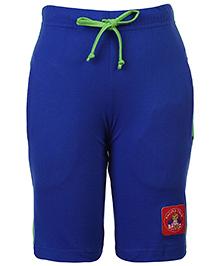 Taeko Three Fourth Track Pants - Royal Blue