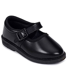 Liberty School Shoes Buckle Closure - Black