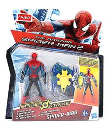 Funskool The Amazing Spiderman 2 Spider Strike Spiderman Figure