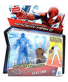 Funskool The Amazing Spiderman 2 Spider Strike Electro Figure Blue - 10 cm
