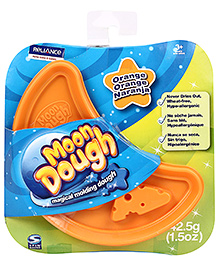 Zapak Moon Dough Magical Moulding Dough Single Disc - Orange