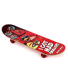 Angry Birds Multi Bird skateboard - 31 inch