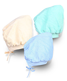 Tinycare Bonnet Style Cap Extra Large - Set Of 3