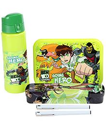 Ben 10 School Kit Green - Set of 6