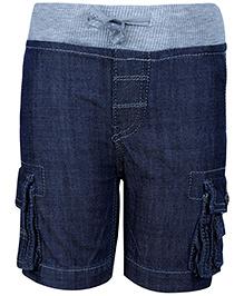 Fox Denim Bermuda Shorts - Blue