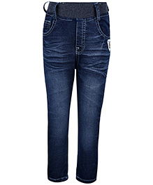 Noddy Full Length Pull On Jeans - Blue
