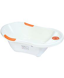 Fab N Funky Musical Bath Tub Happy Print - White