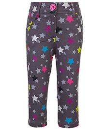 Babyhug Full Length Pant - Star Print