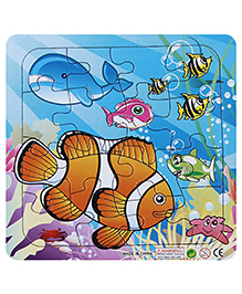 Fab N Funky Puzzle - Fishes Print