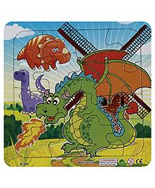 Fab N Funky Puzzle - Dragon Print