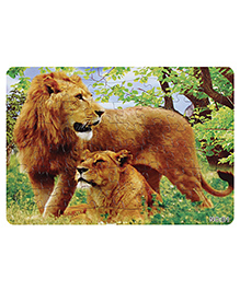 Fab N Funky Puzzle - Lions Print