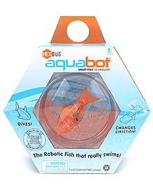 Hexbug Aquabot Smart Fish With Bowl - Orange