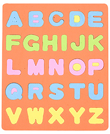 Fab N Funky Alphabet Puzzle Mat Orange - 26 Pieces
