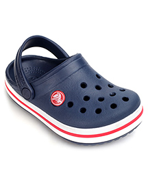 Crocs Clog With Back Strap - Navy Blue