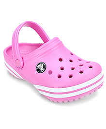Crocs Clog With Back Strap - Pink