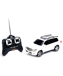 Gokai Remote Control Toyota Land Cruiser - White