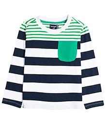Nauti Nati Full Sleeves T-Shirt - Stripes Pattern
