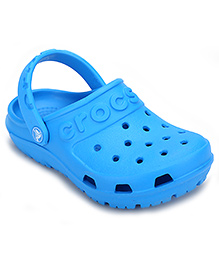 Crocs Clog With Back Strap - Sky Blue