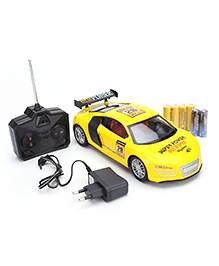 Fab N Funky Remote Controlled Car - Yellow