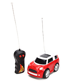 Fab N Funky Remote Controlled Car - Red And White