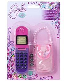 Steffi Love Battery Operated Mobile Phone Set - Pink