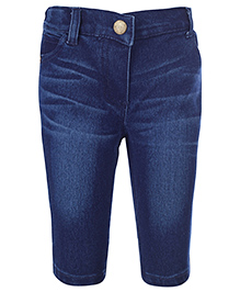 Nauti Nati Denim Shorts - Blue