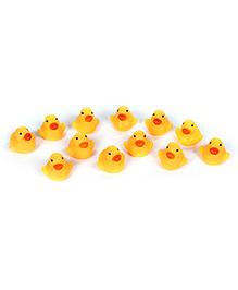 Fab N Funky Duck Shape Bath Toy - Set Of 12