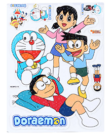 Doraemon Puffy Sparkle A4 Sticker