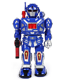 Fab N Funky Super Warrior Robot Electronic Sound Baby Toy - 26 cm