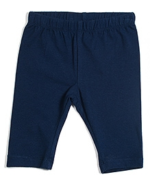 Nauti Nati Solid Leggings - Navy Blue