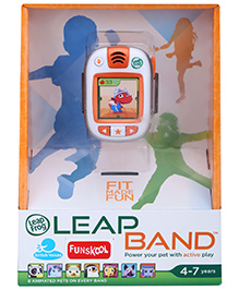 Leap Frog Leap Band - Orange - 4 To 7 Years