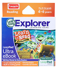 Leap Frog Reading Learn To Read Adventures Stories Volume 2 Pre K 2nd Grade - English