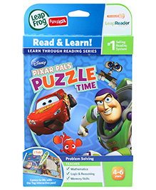 Leap Frog Read And Learn Tag Book Pixar Pals Puzzle Time - English