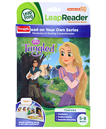 Leap Frog Read Your Own Series Tag Book Disney Princess Tangled - English