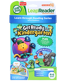 Leap Frog Learn Through Reading Series Tag Book Get Ready For Kindergarten - English