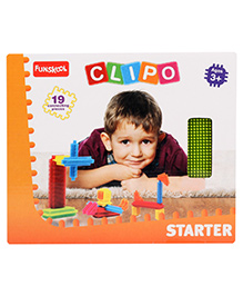 Funskool Clipo Starter - 19 Pieces
