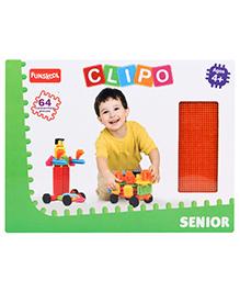 Funskool Clipo Senior - 64 Pieces