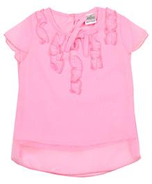 Babyhug Cap Sleeves Top