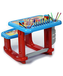 Fab N Funky Activity Study Table - Blue And Red