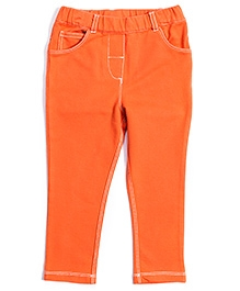 Nauti Nati Retro Pop Jeggings - Orange