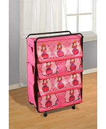 Swayam Digitally Printed Kids Multi Purpose Storage Rack - Dorma - 524957