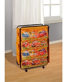 Swayam Digitally Printed Kids Multi Purpose Storage Rack - Dorma