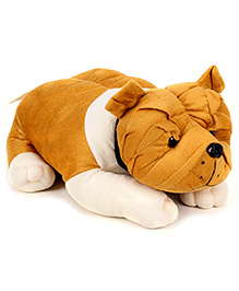 IR Bull Dog Soft Toy - Dual Colour