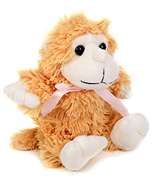 IR Monkey Soft Toy Light Brown - Small