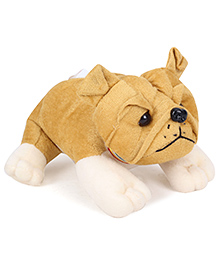 IR Bull Dog Soft Toy - Light Brown