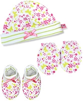 Buzzy Hat Socks And Mittens Set - Lime
