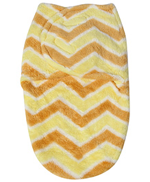Fab N Funky Swaddle Blanket - Orange